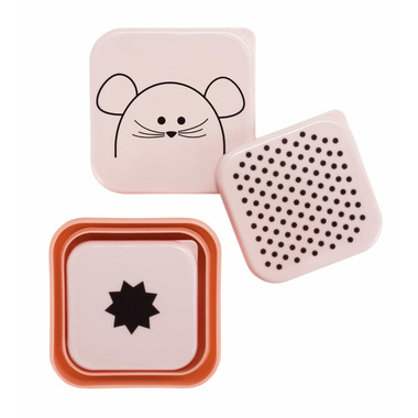 Lassig Little Chums Snackbox Mouse