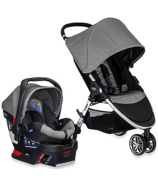 Britax B-Agile 3 & B-Safe 35 Travel System Steel