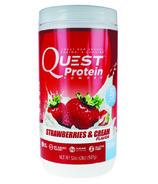 Quest Nutrition Strawberries & Cream Protein Powder