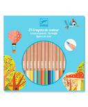 Djeco Coloured Pencil Crayons