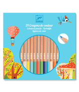 Djeco Coloured Pencil Crayons