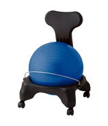 Gaiam Classic Balance Ball Chair Blue Ball