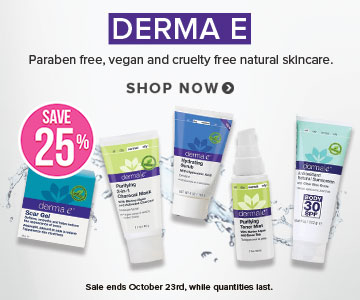Save 20% on Derma E at Well.ca