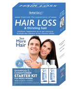 Herbal Glo See More Hair Shampoo & Conditioner Starter Kit