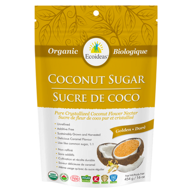Ecoideas Organic Golden Coconut Sugar
