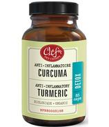 Clef Des Champs Organic Tumeric Capsules