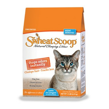 Swheat Scoop Natural Wheat Litter Unscented