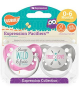 Ulubulu Young Wild and Free and True Love Pacifiers