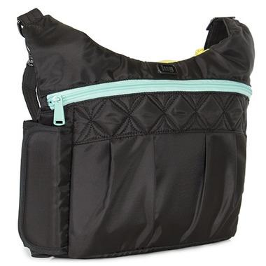 Lug Swing Cross Body Bag Midnight Black