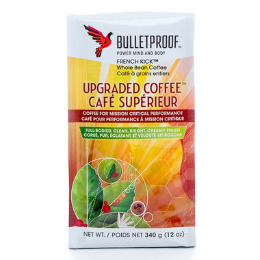 Bulletproof French Kick Whole Bean Upgraded Coffee
