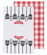 Now Designs BBQ Basics Tea Towel Set