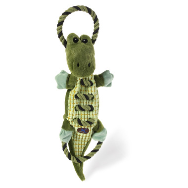 Charming Pet Products Ropes A-Go-Go Gator Dog Toy