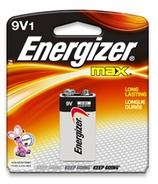 Energizer Max 9 Volt Battery