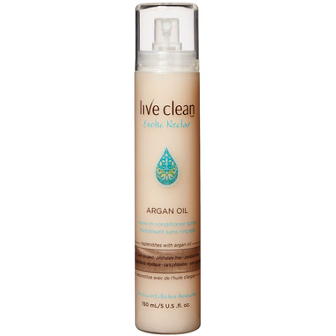 Live Clean Exotic Nectar Argan Oil Leave In Conditioner Spray