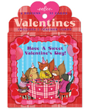 eeboo Valentine's Cards Animal Village