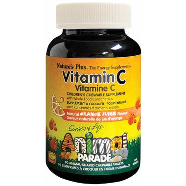 Nature\'s Plus Animal Parade Children\'s Chewable Vitamin C