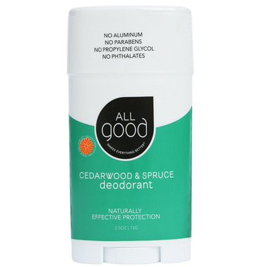 All Good Cedarwood & Spruce Deodorant