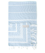 Stray & Wander Marin Turkish Hand Towel Powder Blue