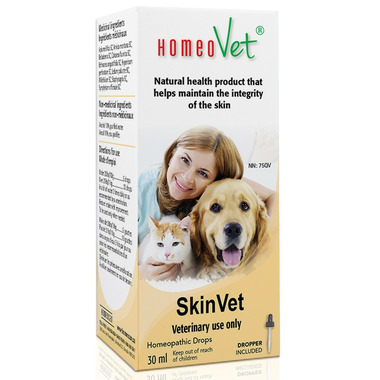 HomeoVet SkinVet Pet Supplements