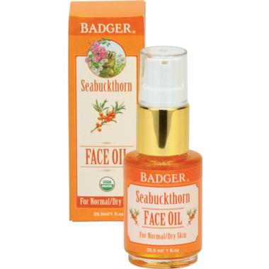 Badger Seabuckthorn Face Oil For Normal or Dry Skin