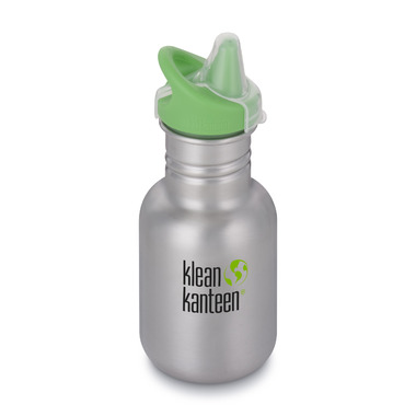 Klean Kanteen Kid Classic with Kid Sippy Cap Brushed Stainless