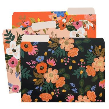 Rifle Paper Co. Lively Floral File Folder Set