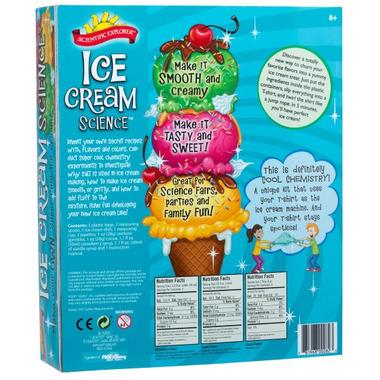 Scientific Explorer Ice Cream Science