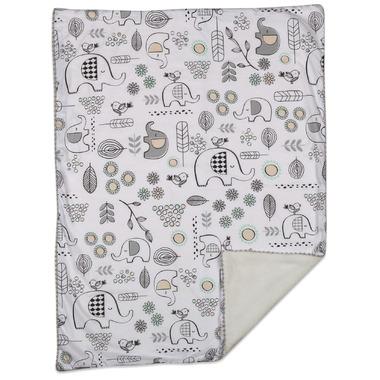 Lolli Living Blanket Kayden Elle Elephant