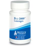 Biotics Research B12 2000 Lozenges