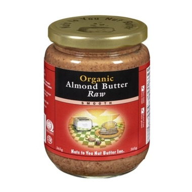 Nuts To You Organic Raw Almond Butter Smooth
