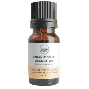 Rocky Mountain Soap Co. Organic Sweet Orange Essential Oil