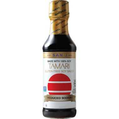 San-J Gluten Free Reduced Sodium Tamari Soy Sauce