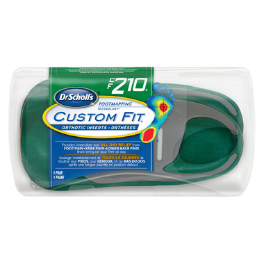 Dr. Scholl\'s Custom Fit Orthotic Inserts CF 210