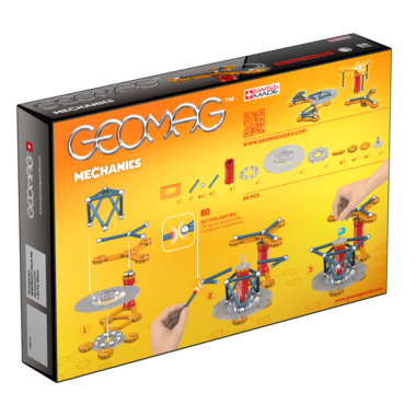 Geomag Mechanics 86 Piece