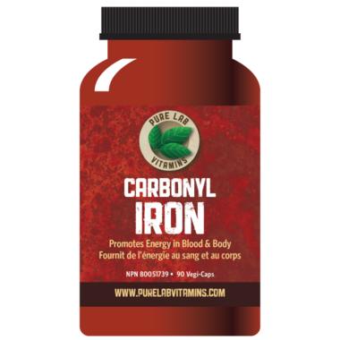 Pure Lab Vitamins Carbonyl Iron
