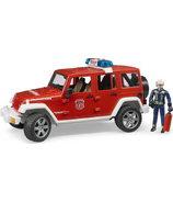 Bruder Toys Emergency Jeep Wrangler Unlimited Rubicon Fire Vehicle