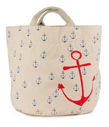 Fluf Small Anchors Tote & Bin
