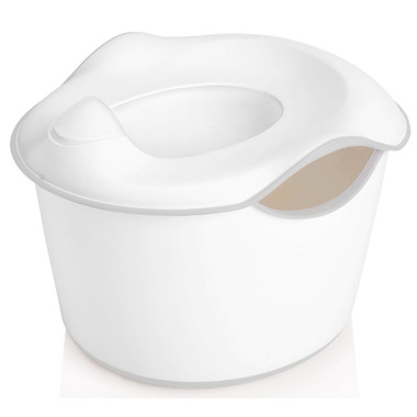Ubbi 3-in-1 Potty White & Grey