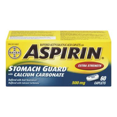 Aspirin Stomach Guard with Calcium Carbonate Extra Strength