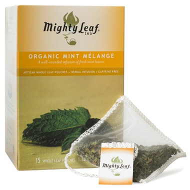Mighty Leaf Organic Mint Melange Tea