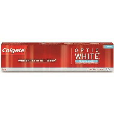 Colgate Optic White Enamel White Toothpaste Luminous Mint Toothpaste