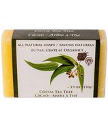 Crate 61 Organics Cocoa Tea Tree Soap