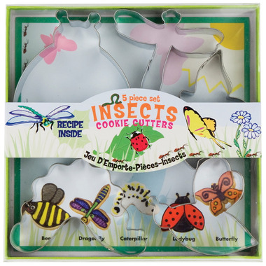 Insect Cookie Cutter Set