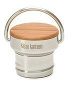 Klean Kanteen Stainless Steel Unibody Bamboo Loop Cap