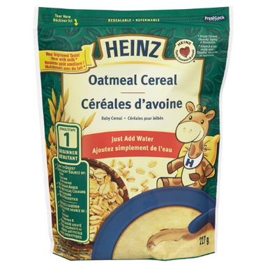 Heinz Baby Cereal Oatmeal- Add Water