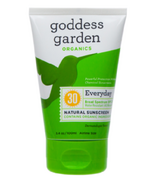 Goddess Garden Sunscreen Lotion