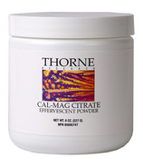 Thorne Research Cal-Mag Citrate Efferencent Powder