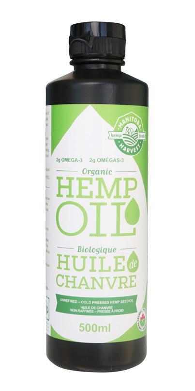 Canadian hemp oil