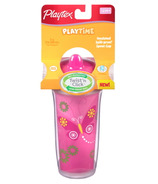 Playtex Playtime Insulated Twist 'n Click Spill-Proof Spout Cup