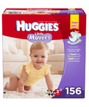Huggies Little Movers Mega Colossal Pack Diapers